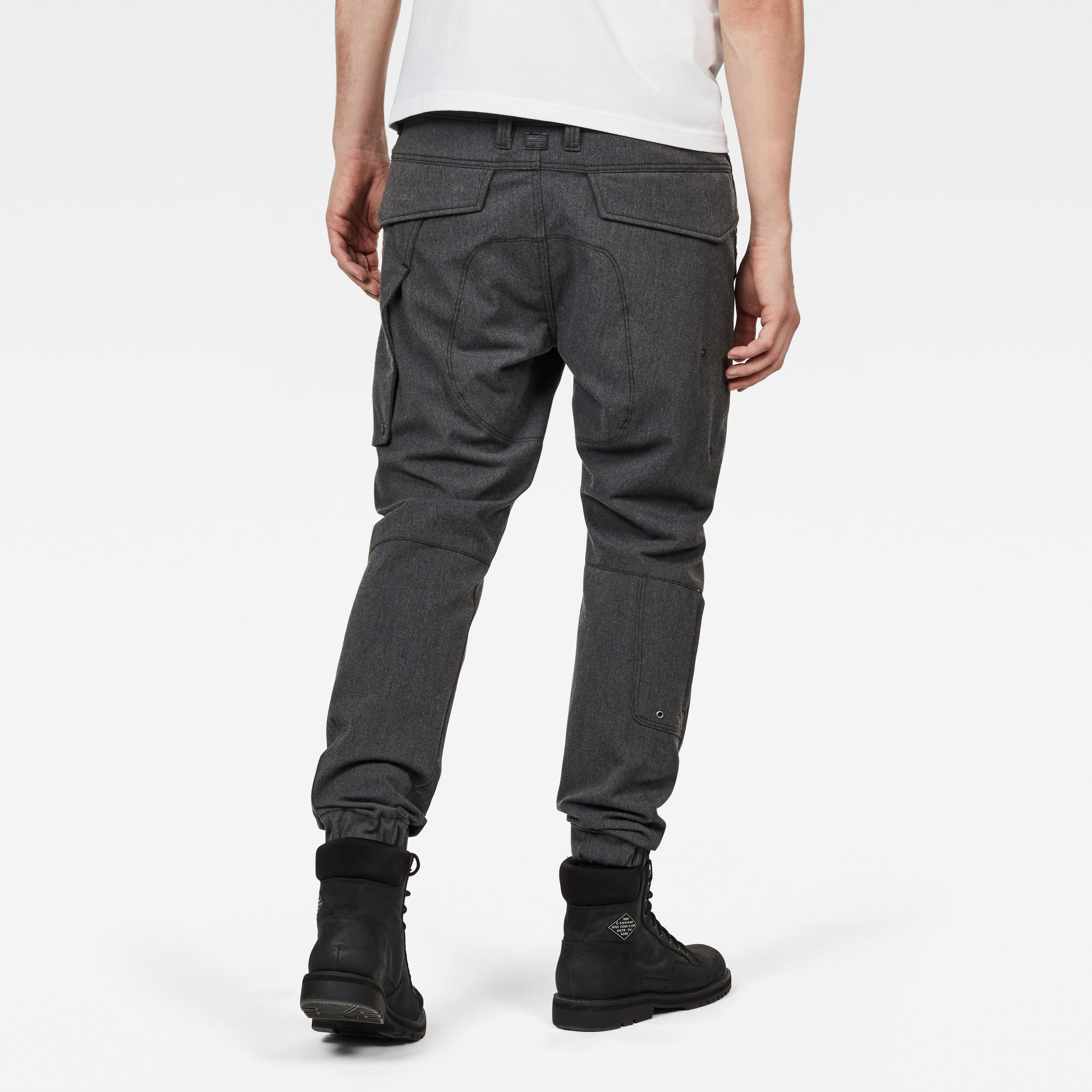 Citishield 3D Cargo Slim Tapered Cuffed Jeans