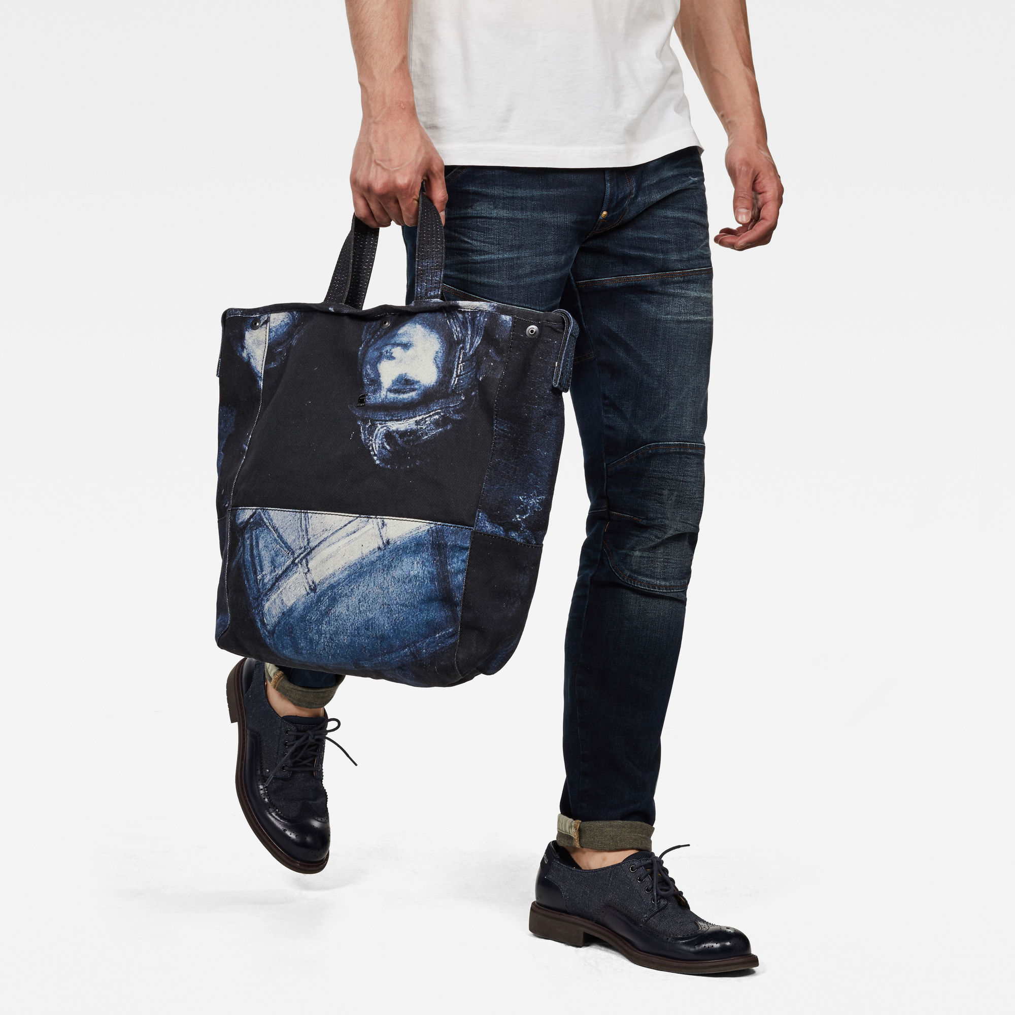 G-Star RAW Rijks Denim Shopper-tas All-over