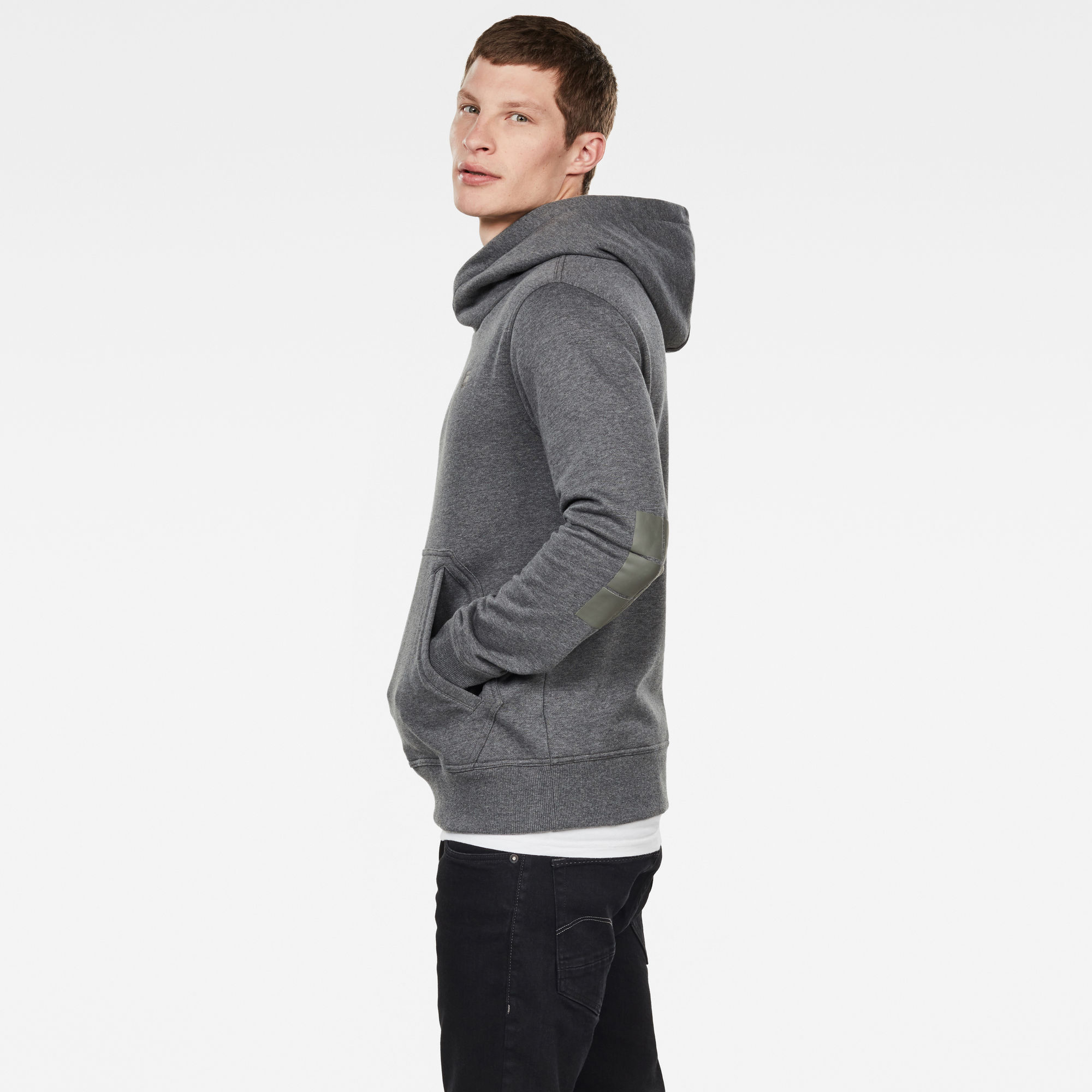 Aero Patched On Pocket Hoodie