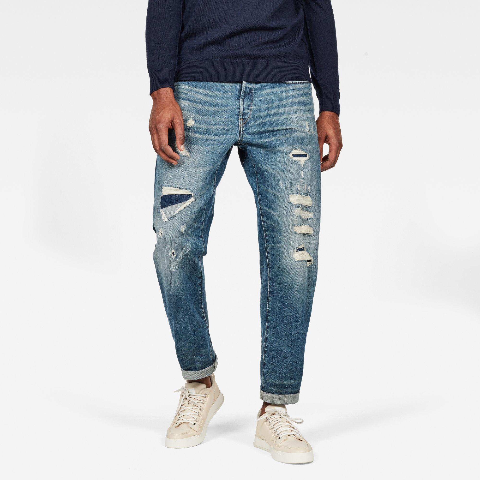 Moddan Type C Relaxed Tapered Jeans kopen Midden blauw