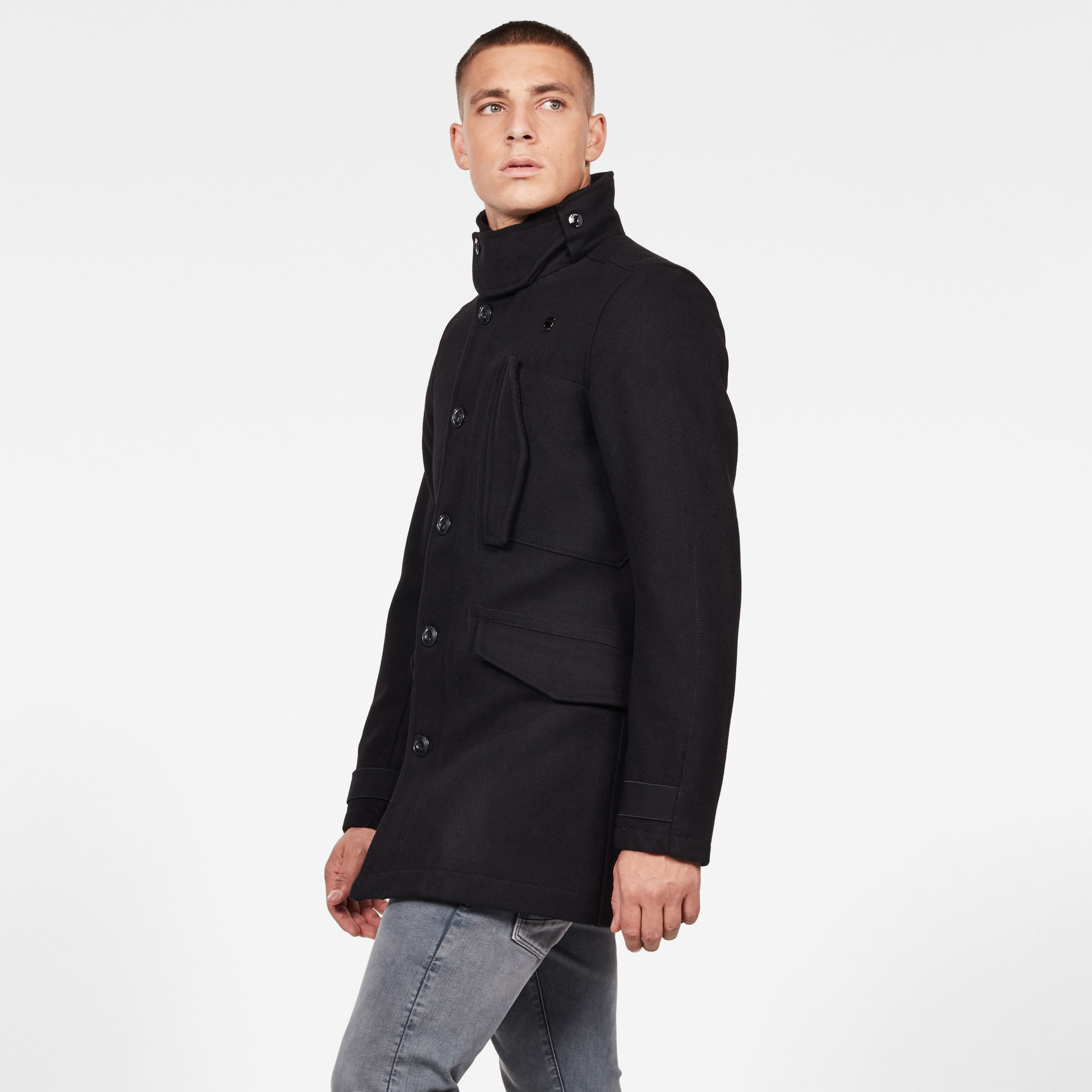 G-Star RAW Scutar Utility Wollen Trenchcoat