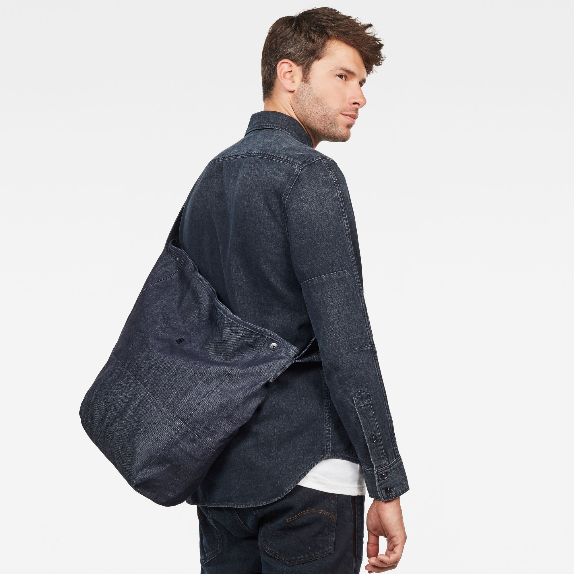 Khoma Denim Shopper-tas
