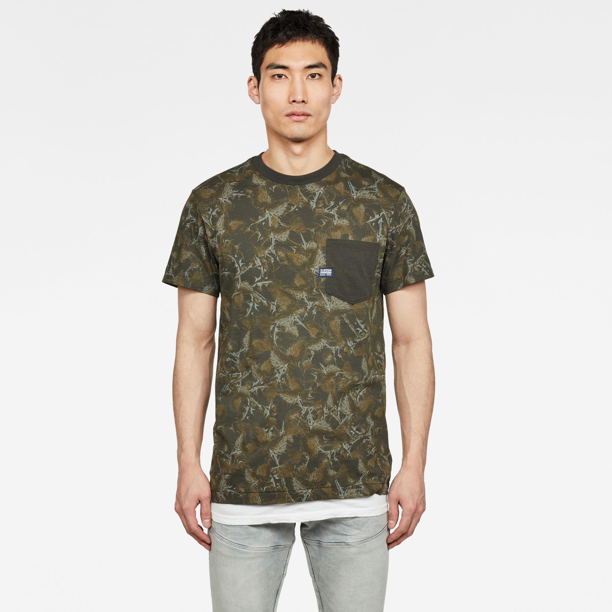 Thistle Allover Pocket T-Shirt