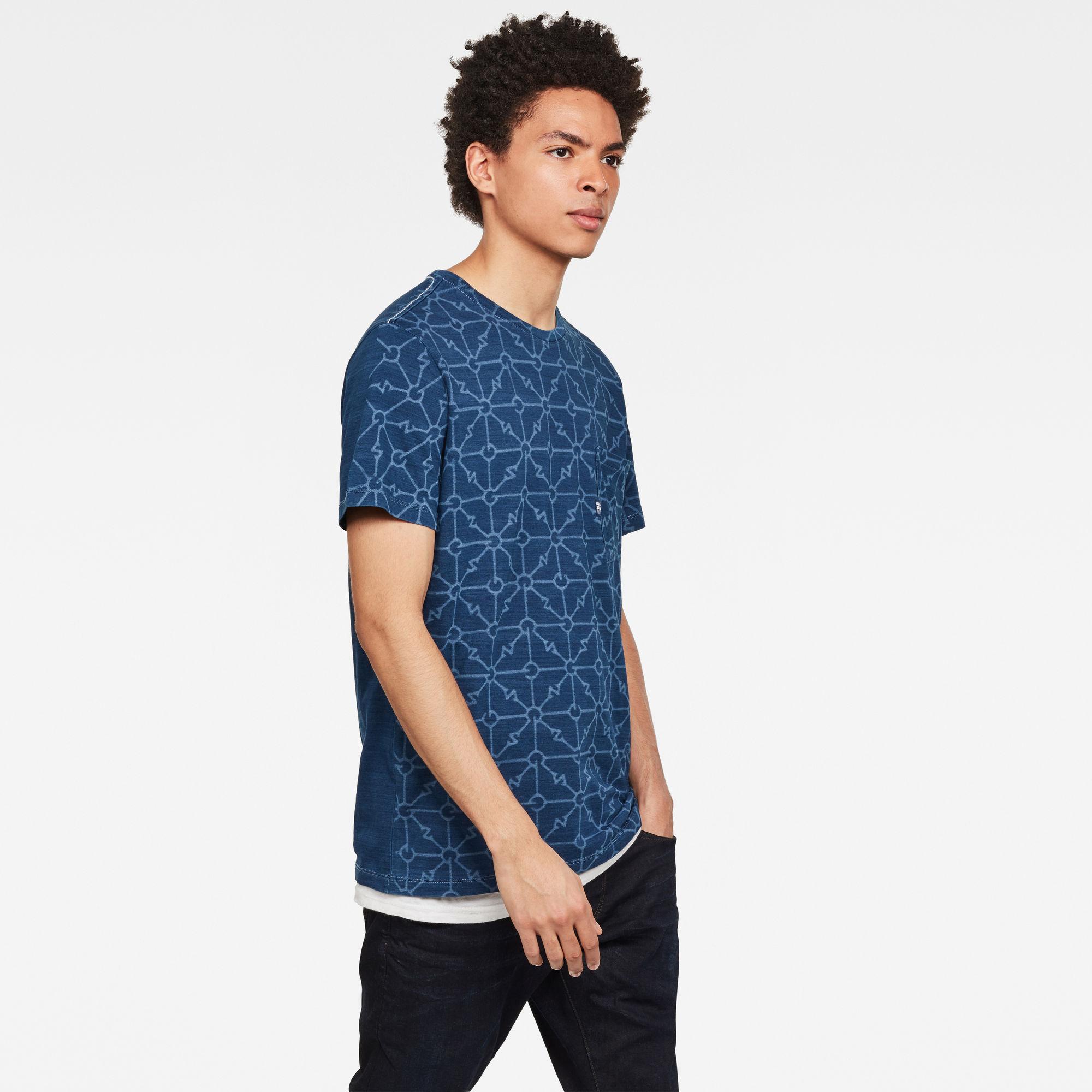 Indigo Pocket GR T-Shirt