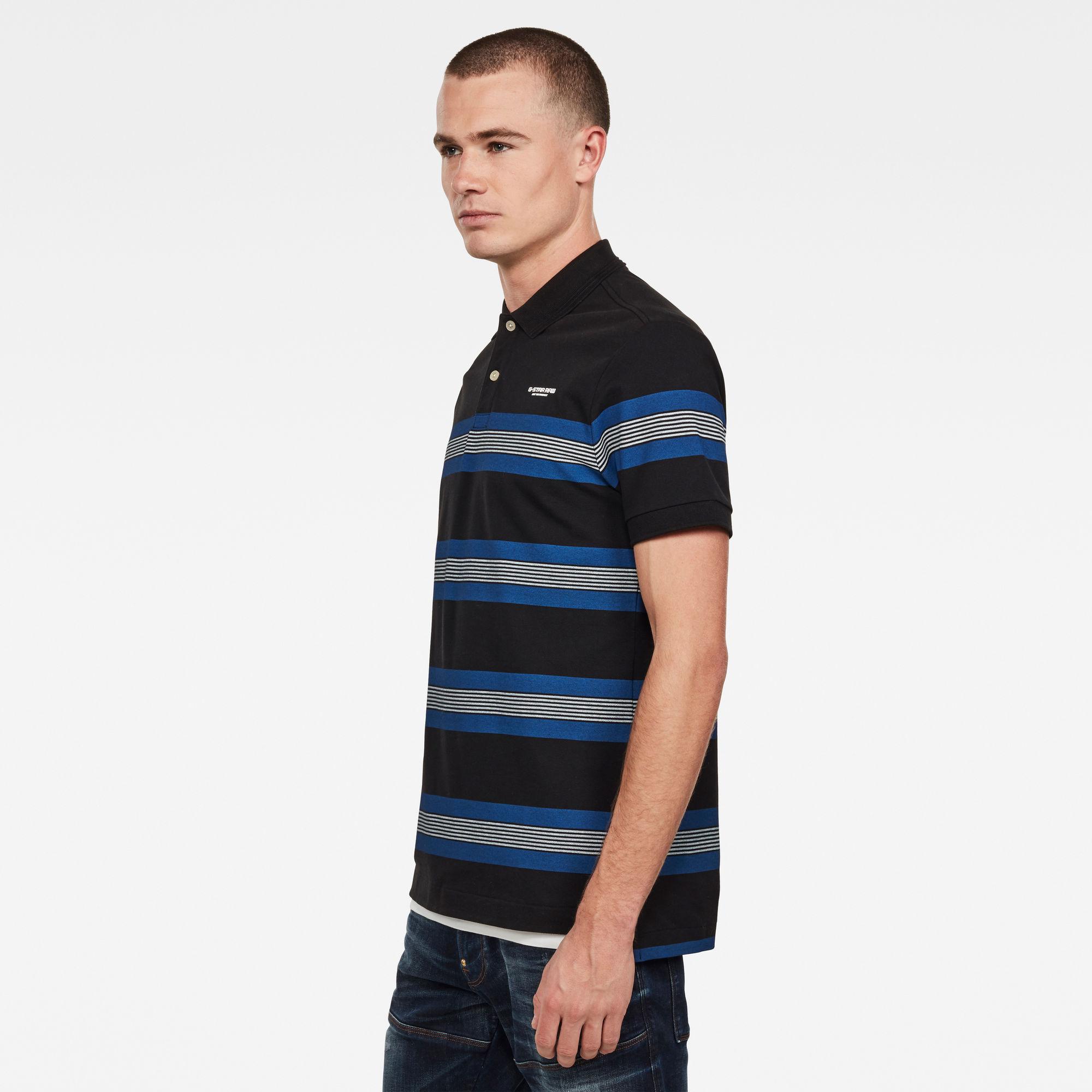 Stainlo Stripe Allover Polo