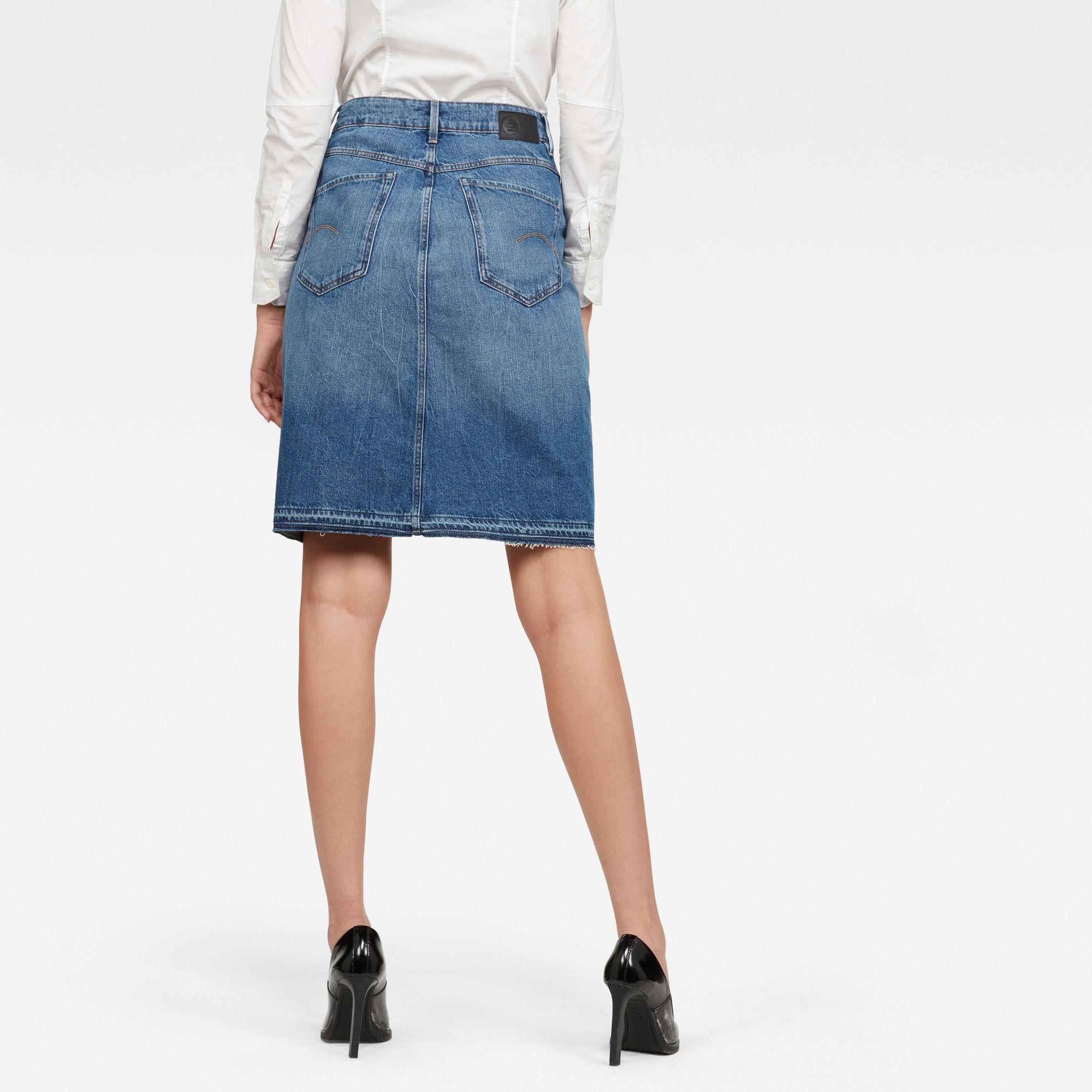 Joci Skirt Ripped Edge Rok
