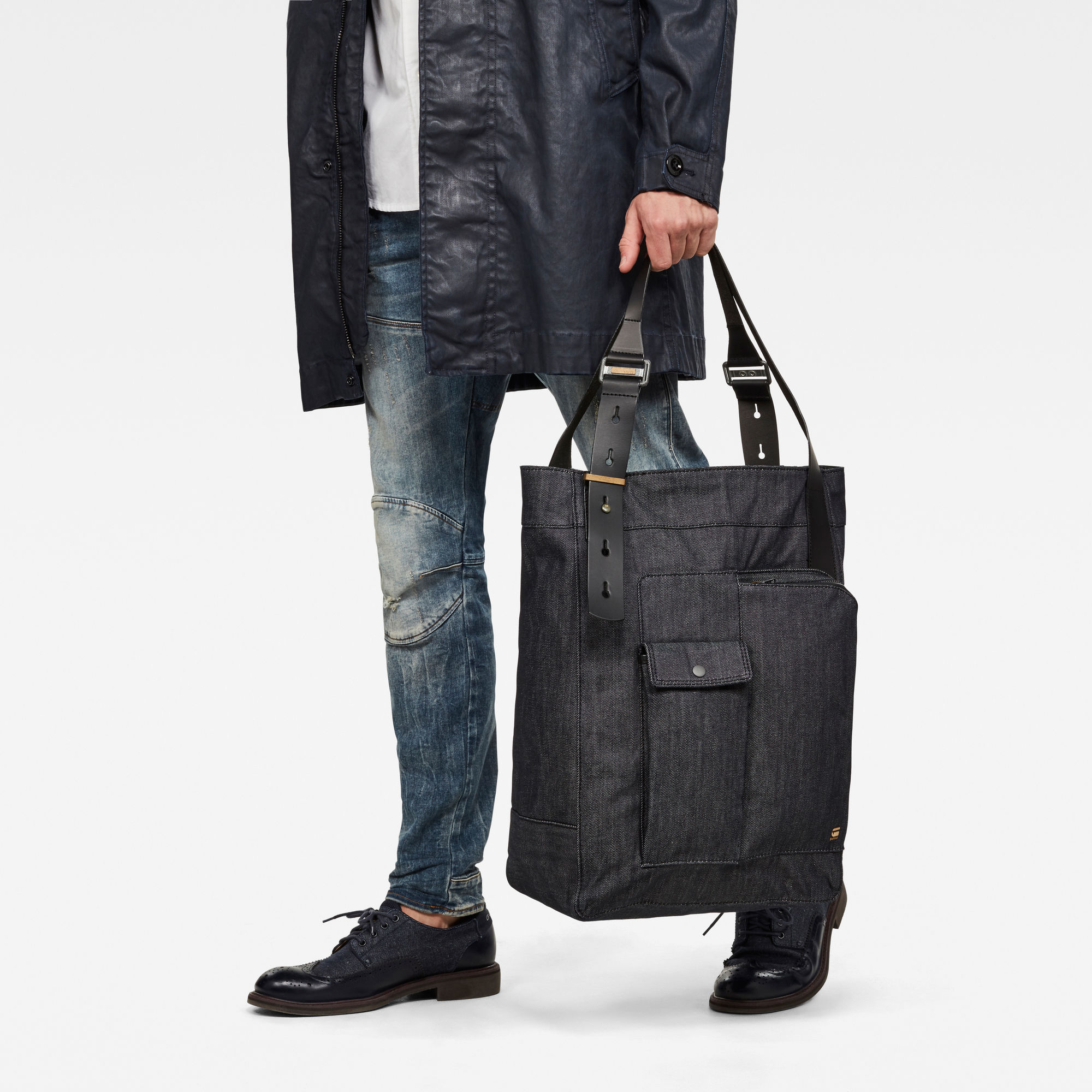 Claxs Shopper Denim