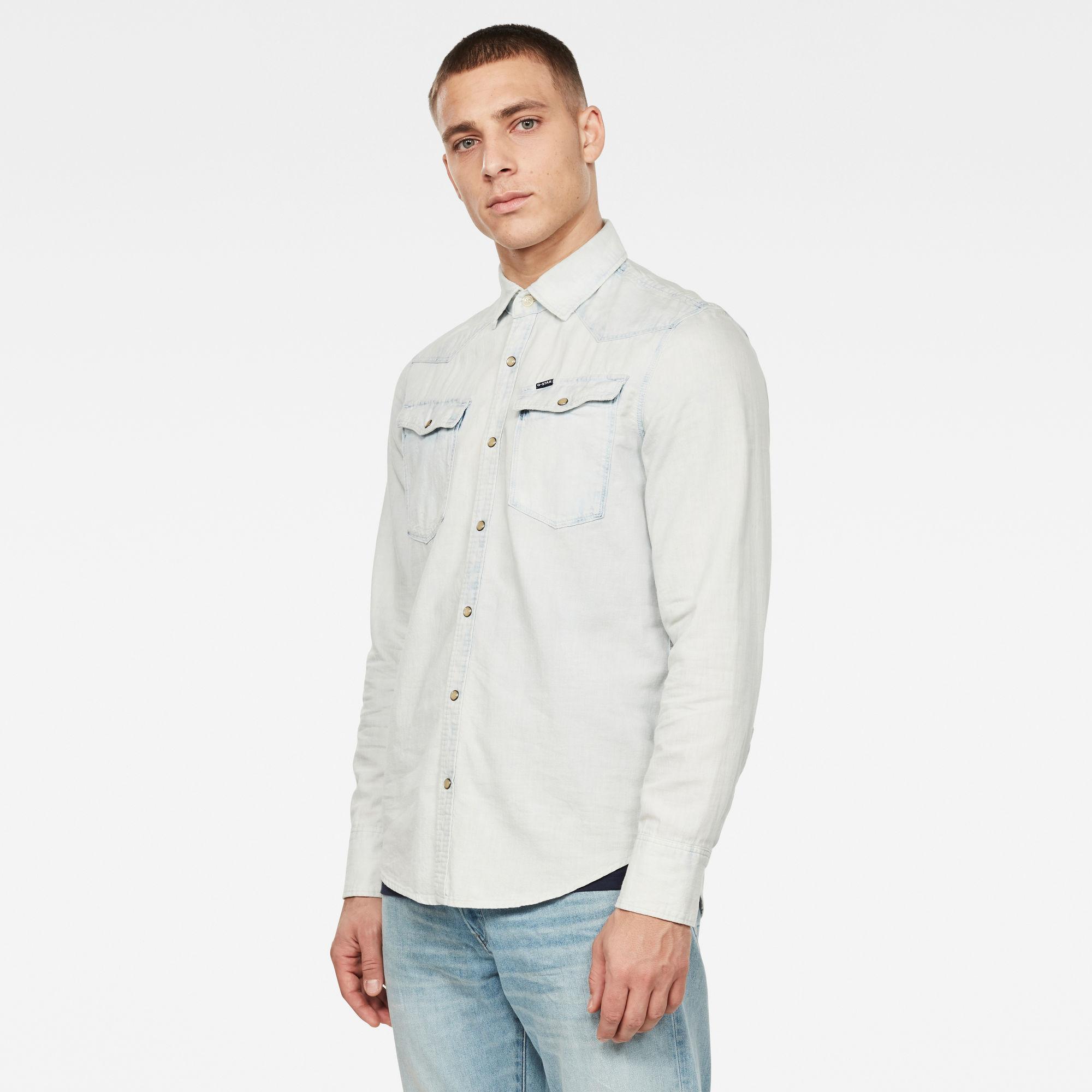3301 Seasonal Destroy Slim Overhemd