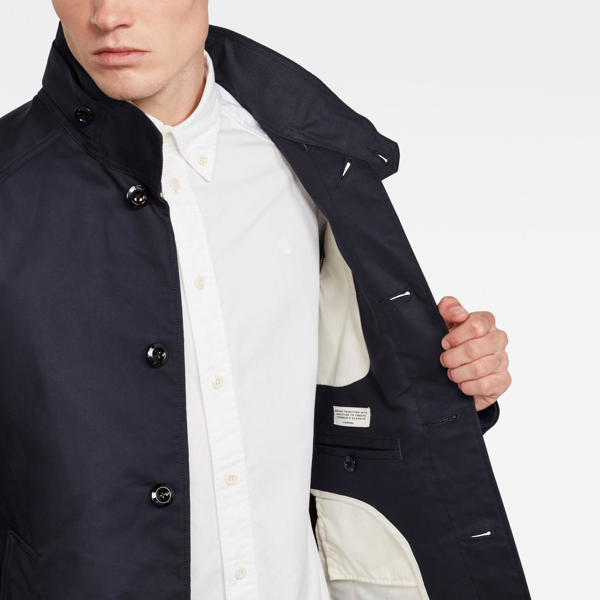 G Star RAW Scutar Half Lined Trenchcoat