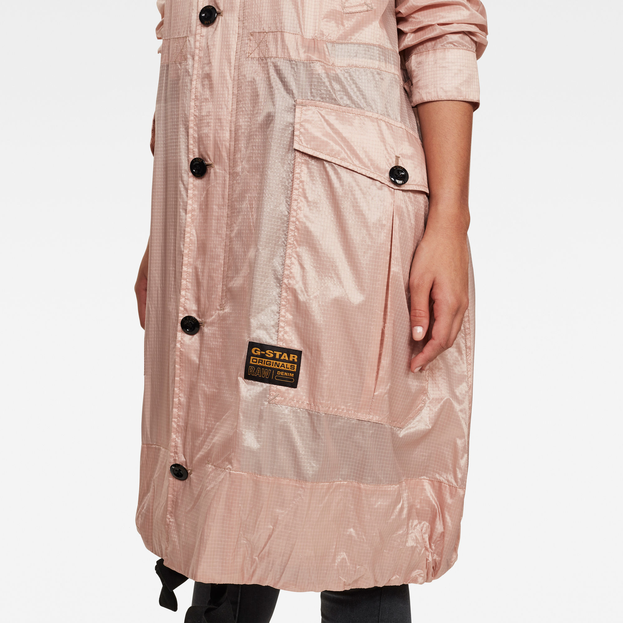 G Star RAW Ultra Lightweight Parka Trenchcoat