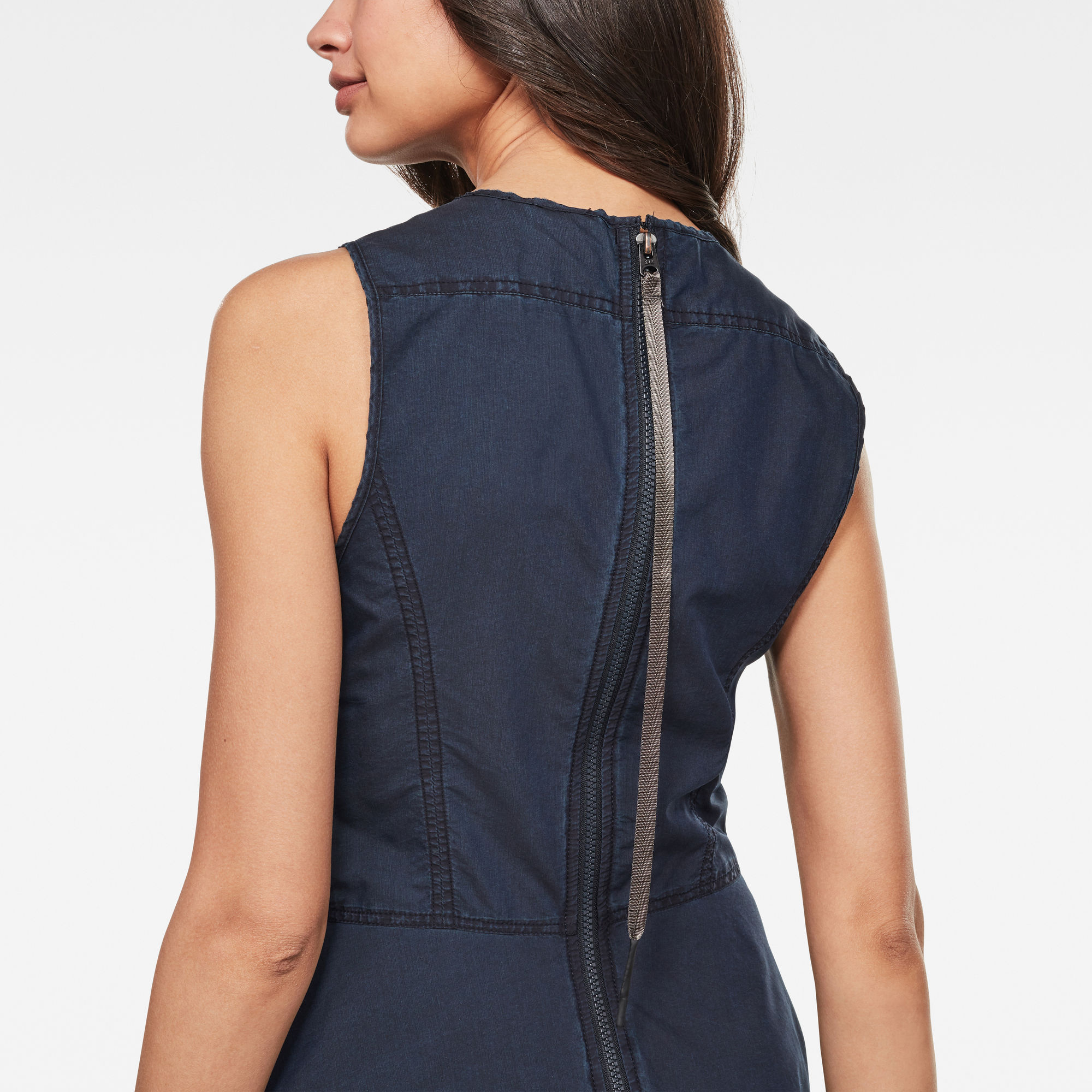 G Star RAW Fit and Flare Jurk