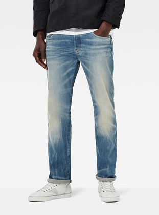 G Star Raw GStar 3301 LOOSE Relaxed fit jeans skop black