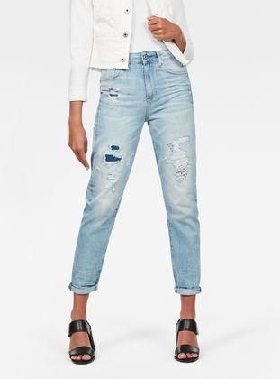 3301 High waist Straight 90s Ankle Cut Jeans