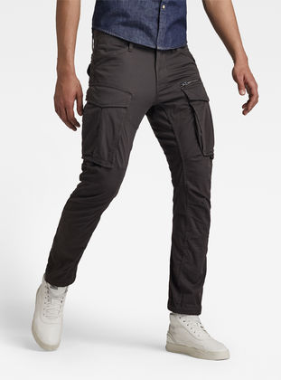 b0a3f8504a4 Rovic Zip 3D Straight Tapered Pant | Raven | Men | G-Star RAW®