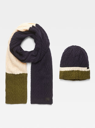 4c146aad575 Xemy Cable Scarf Beanie Giftpack