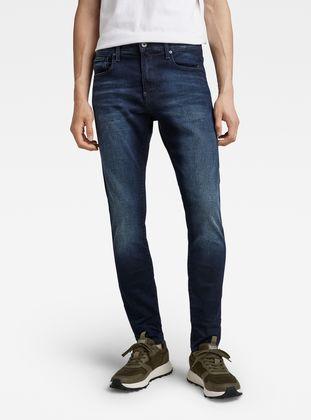 G-STAR RAW Mens Revend Skinny Jeans