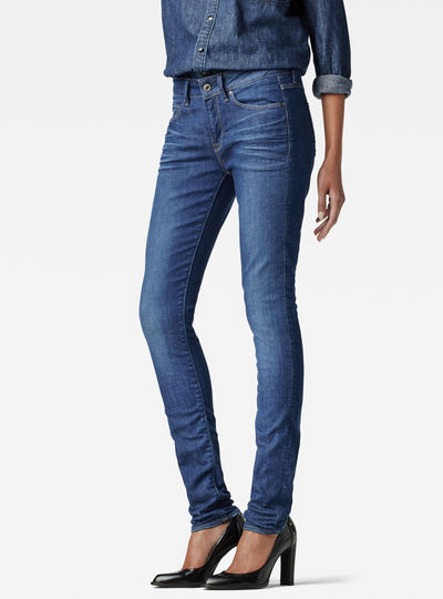 3301 Contour High Skinny Jeans