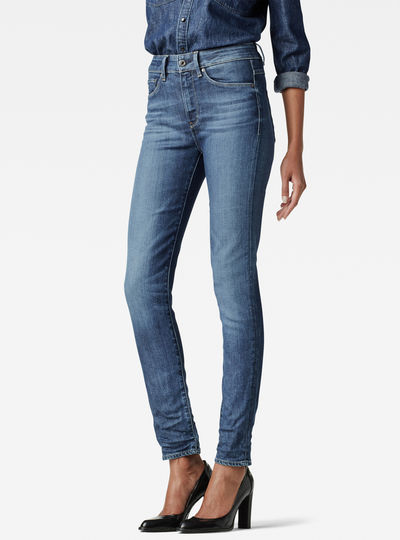 3301 High Waist Super Skinny Jeans