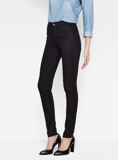 3301 Deconstruct Ultra High Super Skinny Jeans