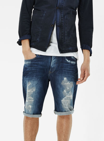 3301 Tapered 1/2 Length Shorts