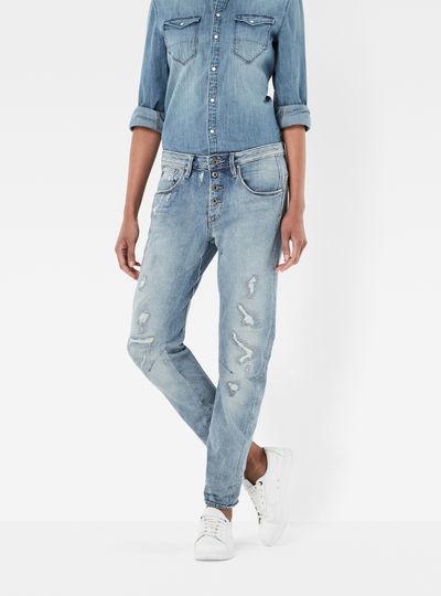 Arc 3D Button Boyfriend Jeans