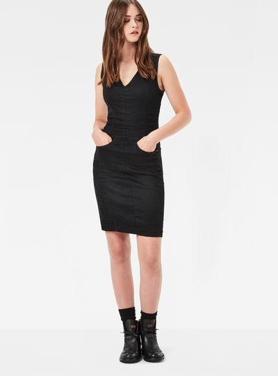Lynn Zip Grip Slim Dress