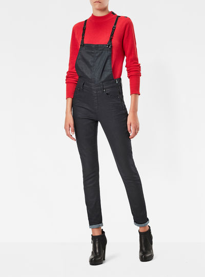 3301 High Waist Skinny Jumpsuit