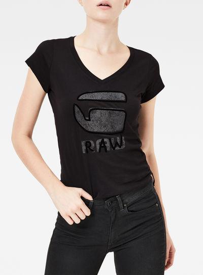 Kostine Slim V-Neck T-Shirt