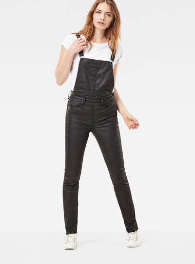 3301 US High Waist Skinny Overalls