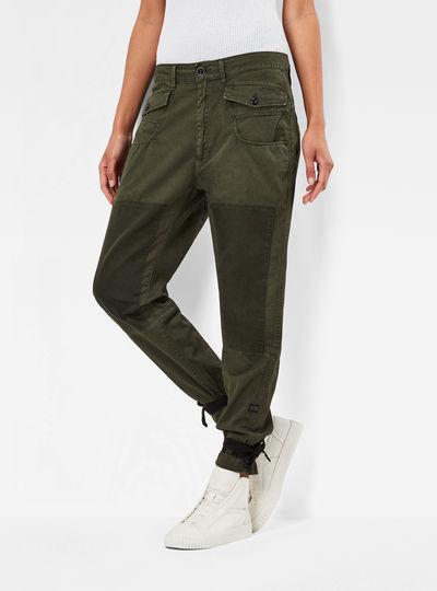Army Radar Strap Loose Tapered Pants