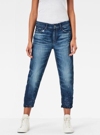 3301 Mid Waist Boyfriend RP 7/8 Jeans