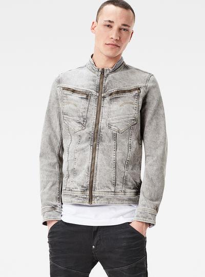 Arc 3D Zip Deconstructed Slim Jacket