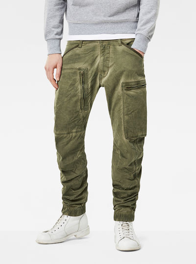 Powel 3D Tapered Cuffed Cargo Pant