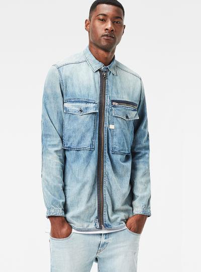 Type C Zip Overshirt
