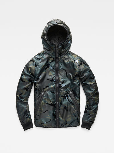 Strett Padded Hooded Jacket