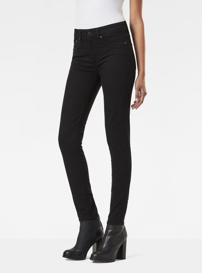 3301 Ultra High Waist Super Skinny Jeans