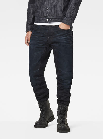 A-Crotch 3D Tapered Jeans