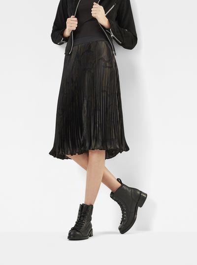 GS High Waist Plissee Skirt