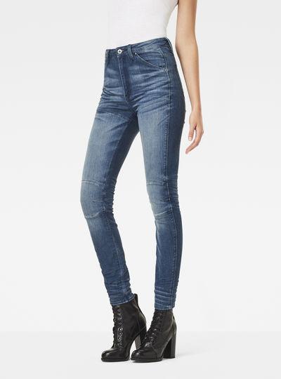 5620 G-Star Elwood Ultra High Waist Skinny Jeans