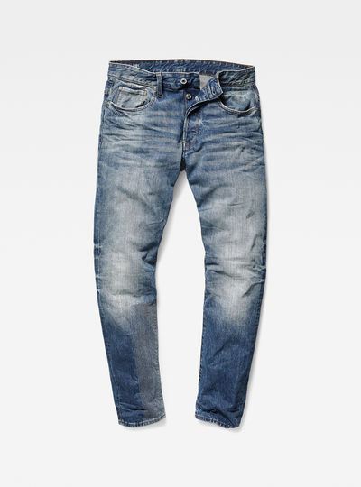 3301 Tapered Prestored Jeans