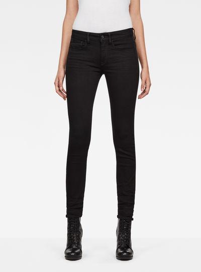 3301 Mid-Waist Skinny Jeans