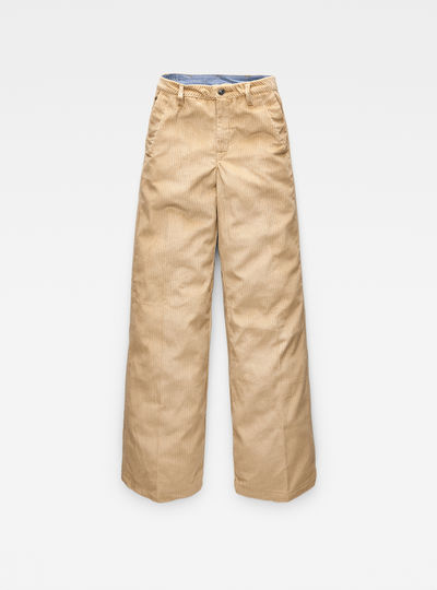 Bronson High Waist Wide Leg Chino