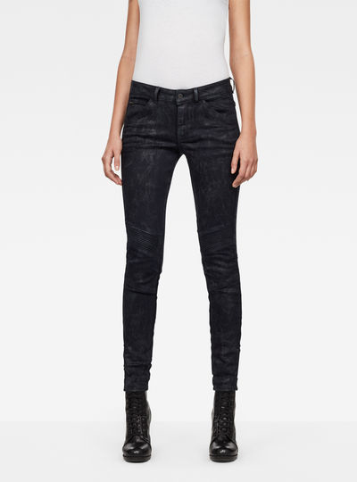 5622 D-Motion 3D Mid Waist Skinny Jeans