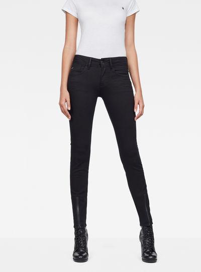 Lynn Lunar Mid-Waist Skinny Jeans