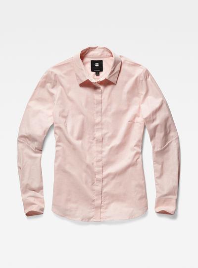 Deline slim tailored shirt wmn l/s