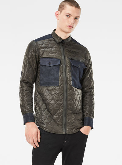 Type C Padded Zip PM Overshirt