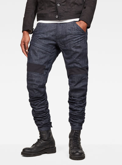 5620 Raw Essentials Motion 3D Tapered Jeans