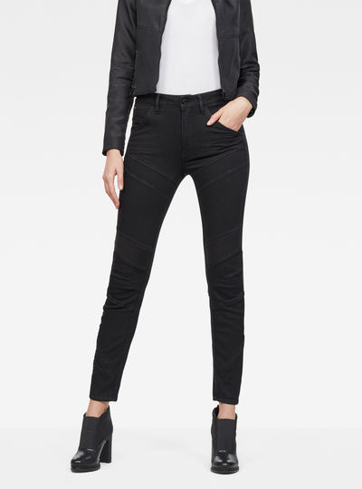 Motac-X D-3D High Skinny Ankle Jeans