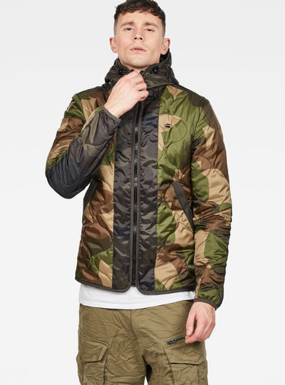 Edla Padded Hooded Overshirt