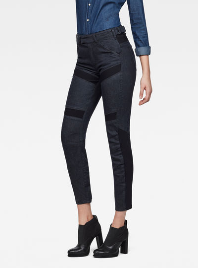 Raw Essentials Motac-X 3D High Skinny Ankle Jeans